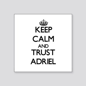 Keep Calm and TRUST Adriel Sticker