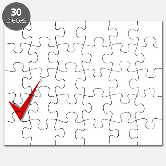 Mentally dating a celebrity_white Puzzle