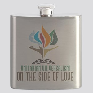 UU On the Side of Love Flask