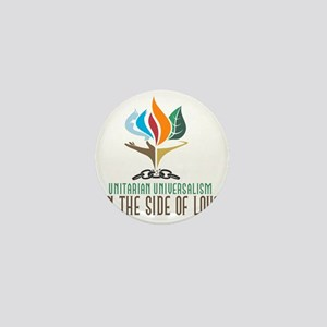 UU On the Side of Love Mini Button