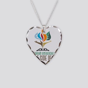 UU On the Side of Love Necklace Heart Charm