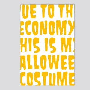 Halloween Costume Postcards (Package of 8)