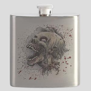 Zombie head Flask