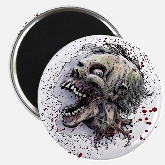 Zombie head Magnet
