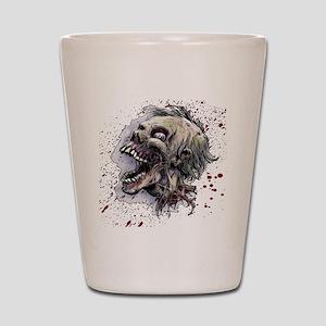 Zombie head Shot Glass