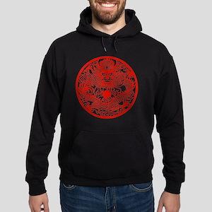 Asian Dragon Hoodie (dark)