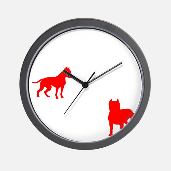 Racism is the Pits Wall Clock