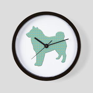 Paisley Sheepdog Wall Clock