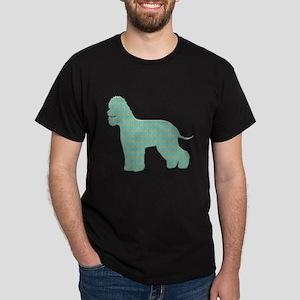 Paisley Spaniel Dark T-Shirt