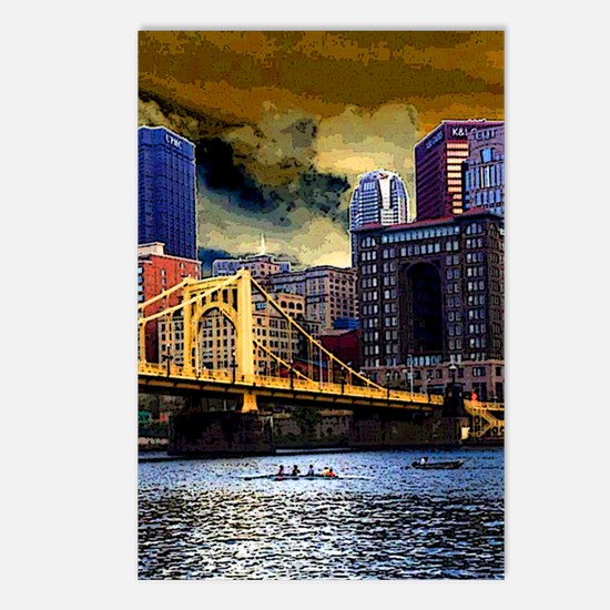 Downtown Pittsburgh from  Postcards (Package of 8)