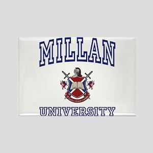 MILLAN University Rectangle Magnet