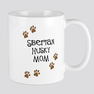 Siberian Husky Mom Mugs