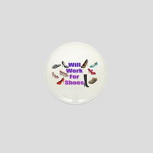 Shoe Mini Button