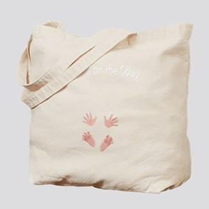 Love is on the Way Maternity Tote Bag