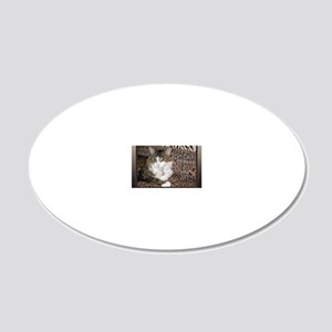 PT Cats Cover 2013 20x12 Oval Wall Decal