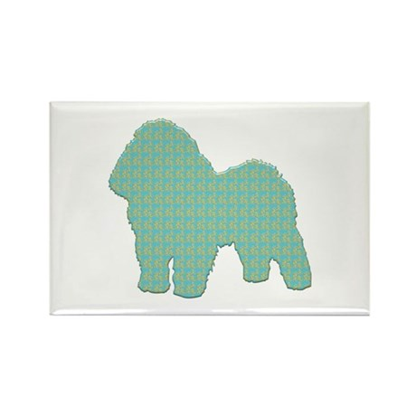 Paisley Bolognese Rectangle Magnet (10 pack)
