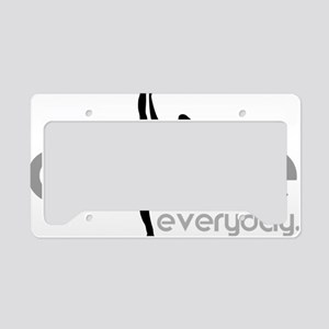 dance everyday License Plate Holder