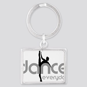 dance everyday Landscape Keychain