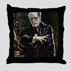 9X12-Sml-framed-print-lonch Throw Pillow