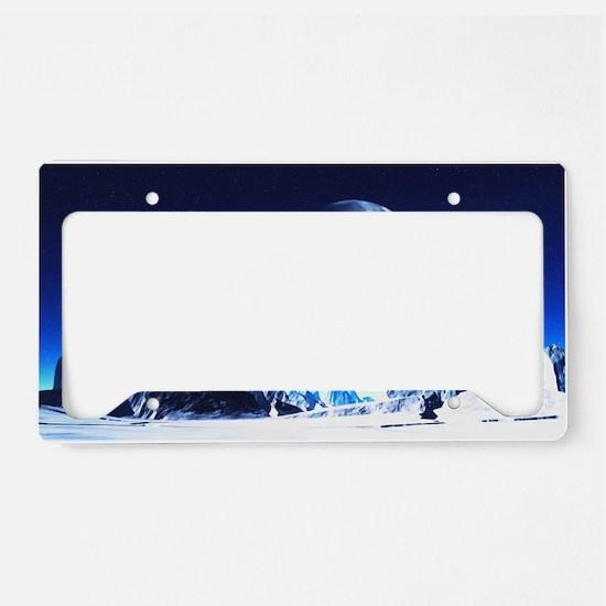 sahr_wall_pell_35_21 License Plate Holder