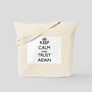Keep Calm and TRUST Aidan Tote Bag