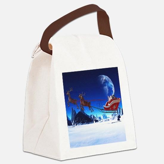 sahr_shower_curtain Canvas Lunch Bag