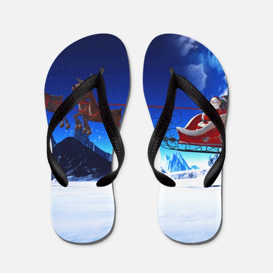 sahr_shower_curtain Flip Flops
