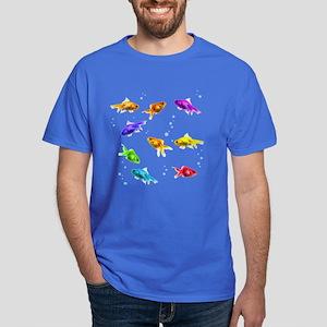 Rainbow Fish Dark T-Shirt