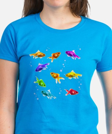 Rainbow Fish Women's Dark T-Shirt