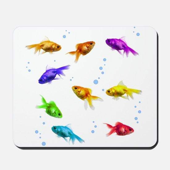 Rainbow Fish Mousepad