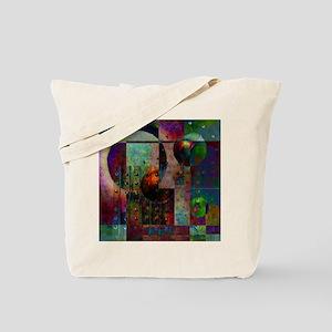 Grunge Green Tote Bag