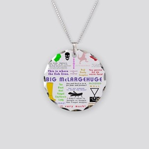 Mike Episodes Necklace Circle Charm
