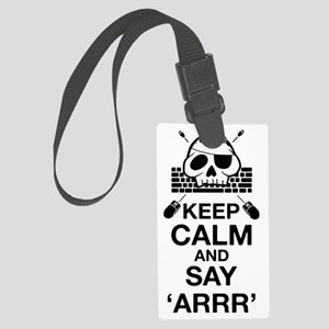 Say arr Large Luggage Tag
