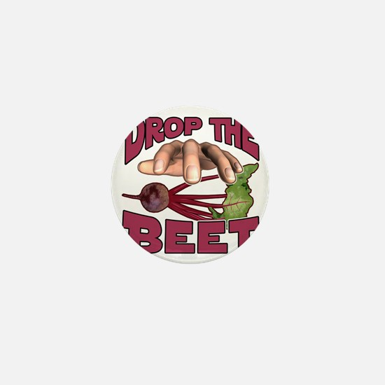 Drop the Beet Mini Button