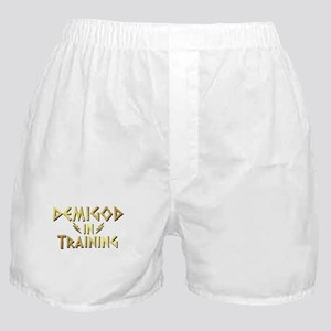 DEMIGOD in TRAINING Boxer Shorts