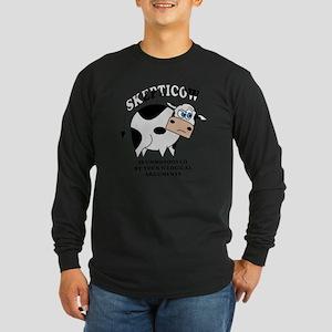 Skepticow Long Sleeve Dark T-Shirt
