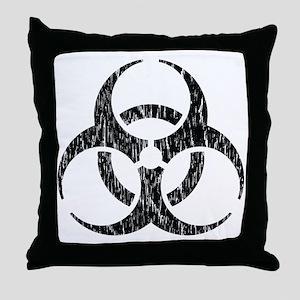 infectious Throw Pillow