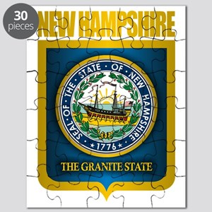 New Hampshire Seal (back) Puzzle