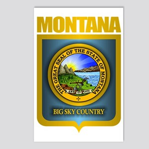 Montana Seal (back) Postcards (Package of 8)