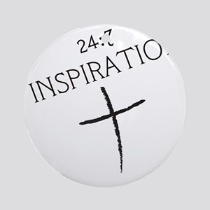 247 INSPIRATION Round Ornament