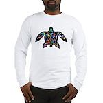 hawaiian honu turtle print Long Sleeve T-Shirt
