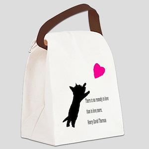 Scottie Love Canvas Lunch Bag