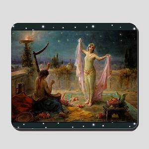 Hans Zatzka - Moonlight Serenade Mousepad