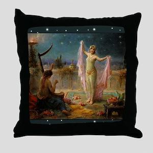 Hans Zatzka - Moonlight Serenade Throw Pillow