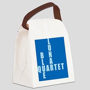 BlueLunar_textblue Canvas Lunch Bag
