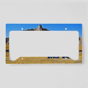 Bad Lands License Plate Holder