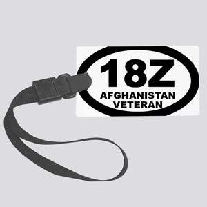 Special Forces Senior Sergeant Large Luggage Tag