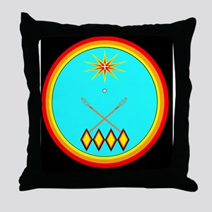 CHOCTAW Throw Pillow
