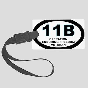 11B Operation Enduring Freedom Large Luggage Tag