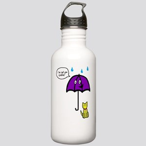 Friendly Umbrella Stainless Water Bottle 1.0L
